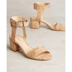 Anthropologie Schutz Jinger Cork Heels